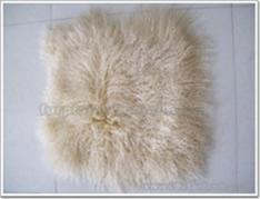 Mongolian Lamb Cushion Cover