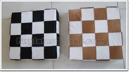 calfskin cow skin pillowcase cushion covers